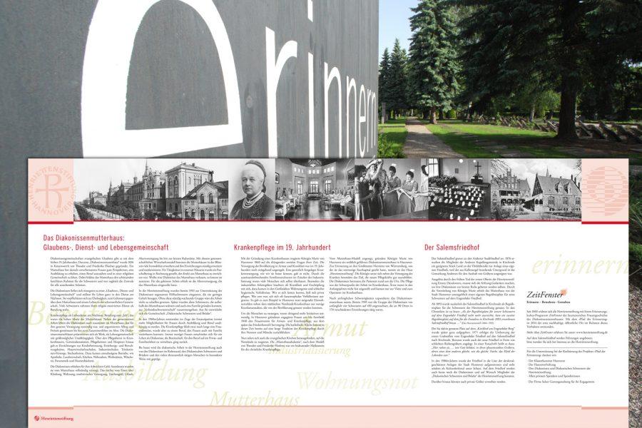 Begleitpublikationen, Planungsberatung, Typographische Konzepte, Informationstafeln, Visualisierungen