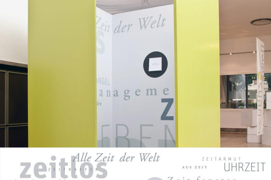 Wandgestaltung, Typografie