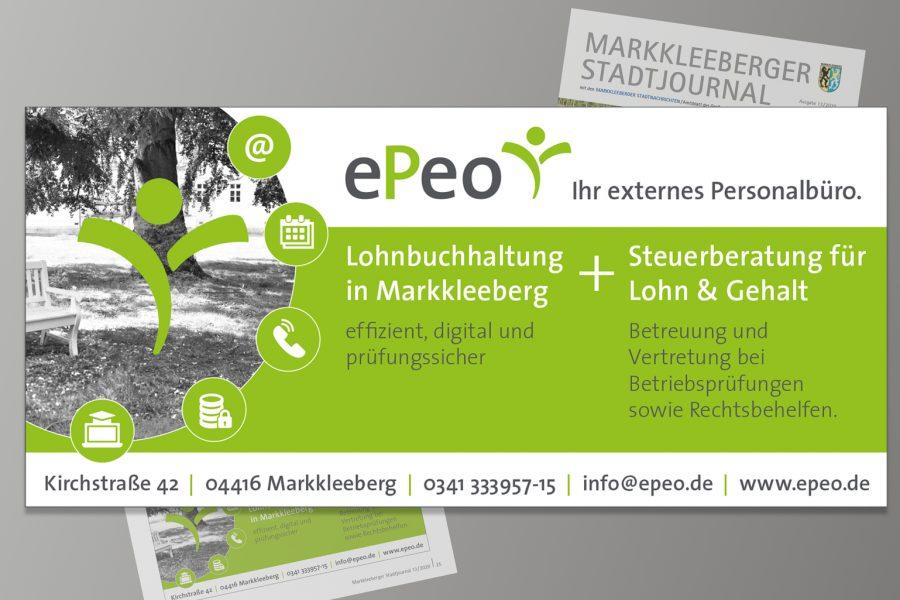 Anzeigengestaltung ePeo